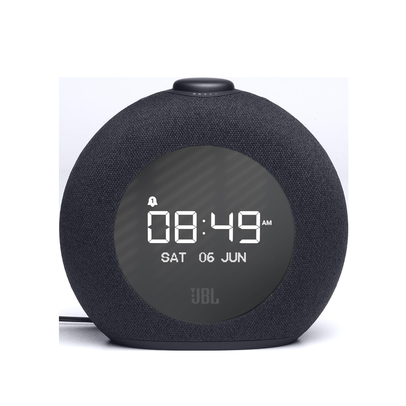 JBL Horizon 2 DAB - Black - Bluetooth clock radio speaker with DAB/DAB+/FM - Front