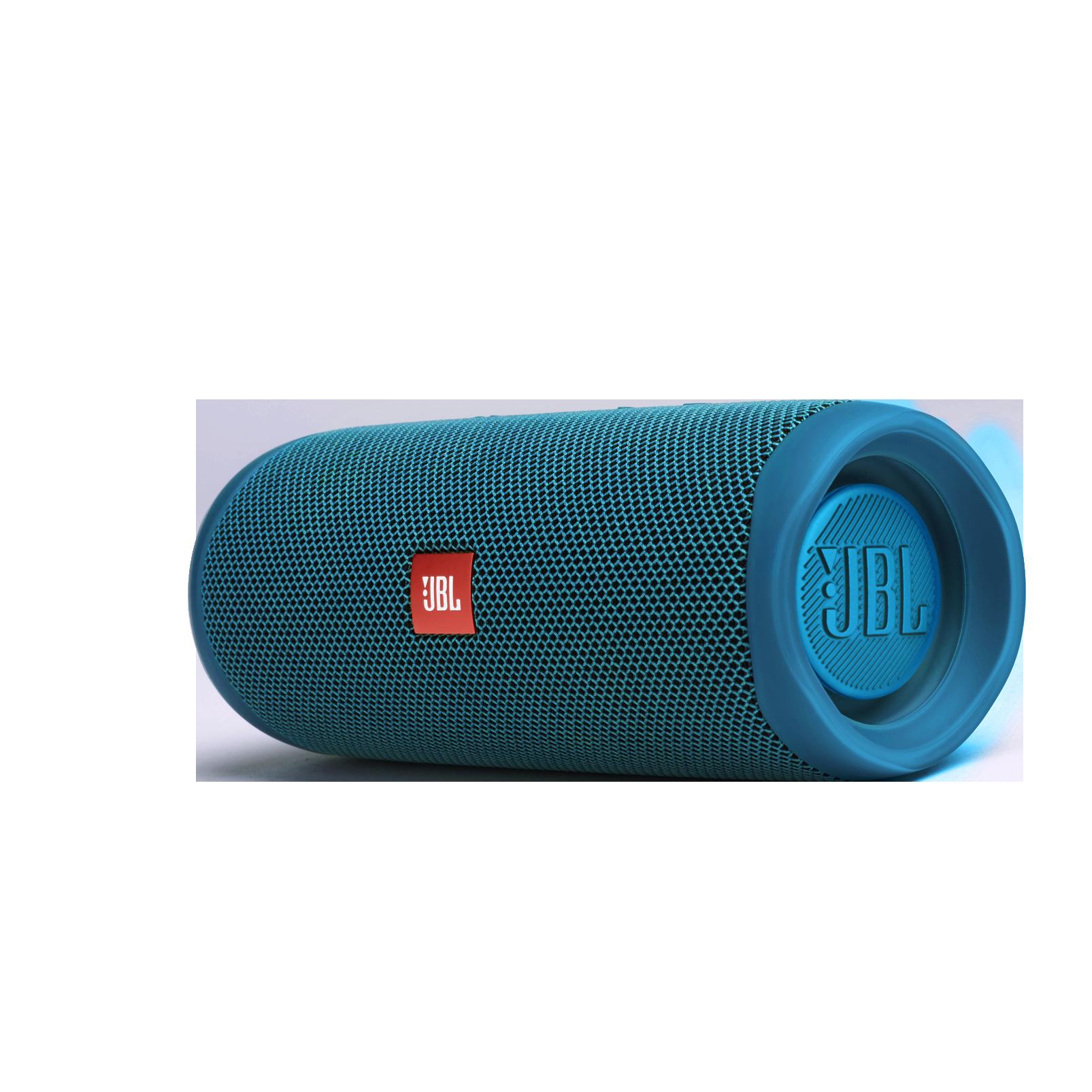 JBL Flip 5 Eco edition - Ocean Blue - Portable Speaker - Eco edition - Left