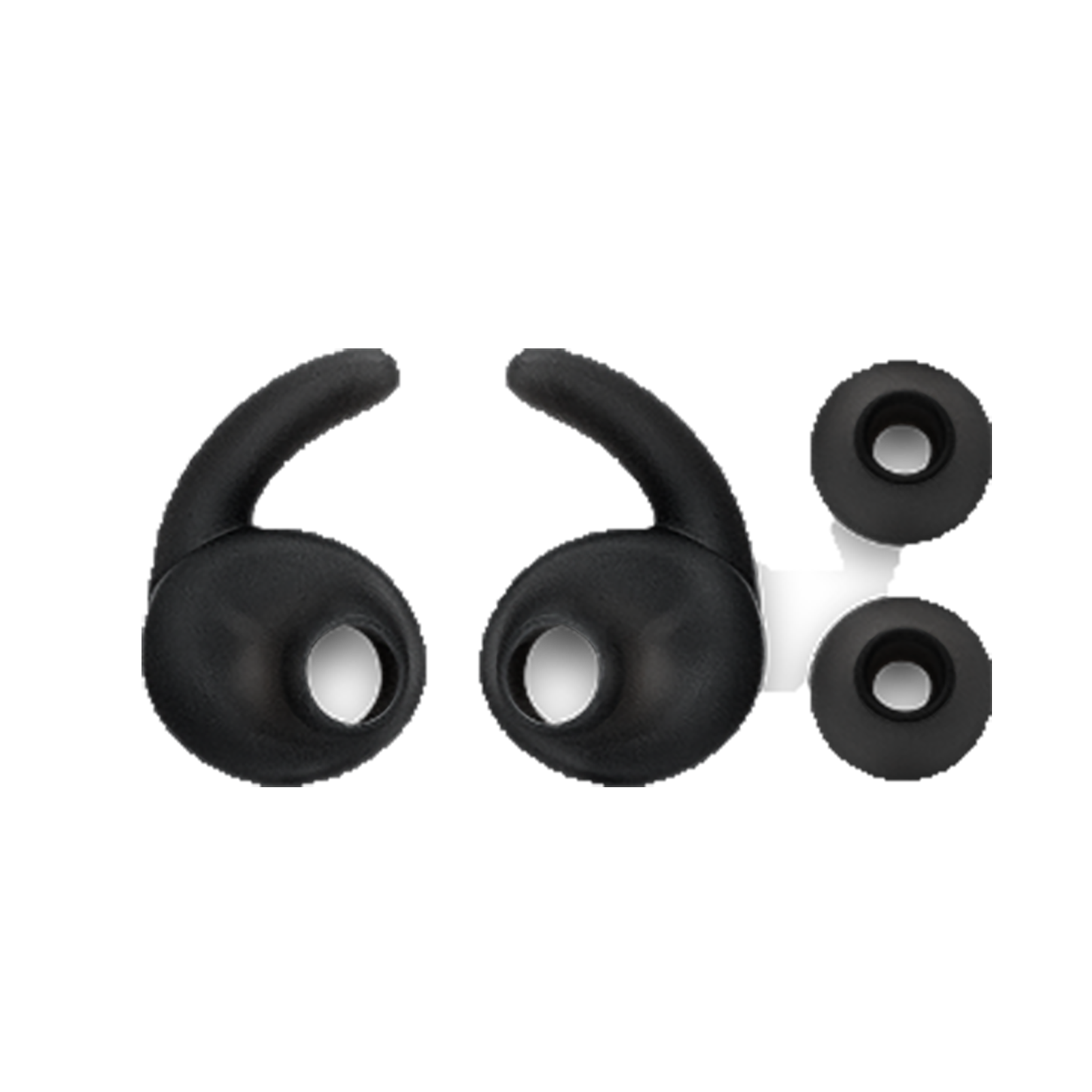 JBL Ear tips and Enhancer for Reflect Mini 2/ Reflect Contour 2 - Black - Ear tips L (L+R) - Hero