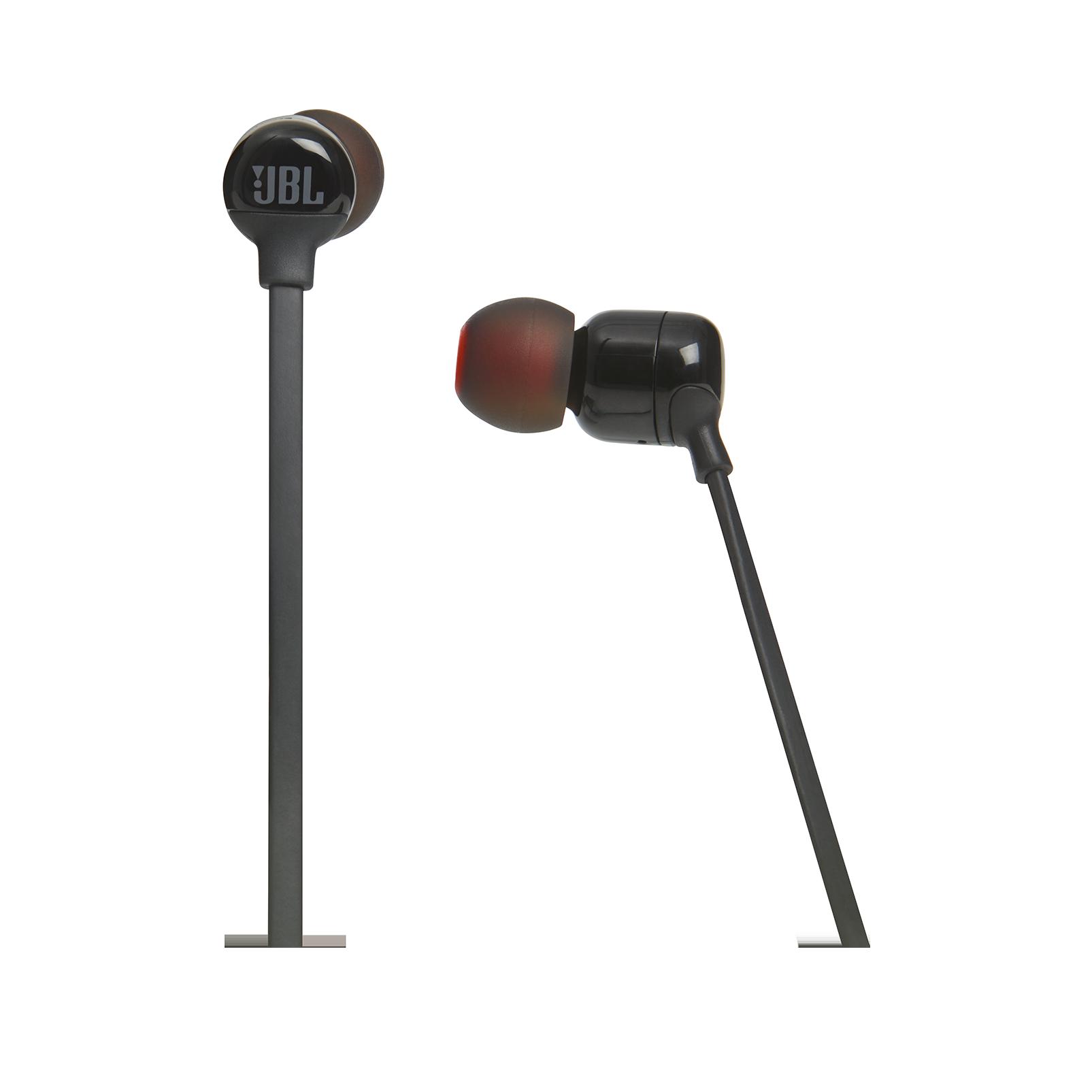 JBL TUNE 110BT - Black - Wireless in-ear headphones - Detailshot 3