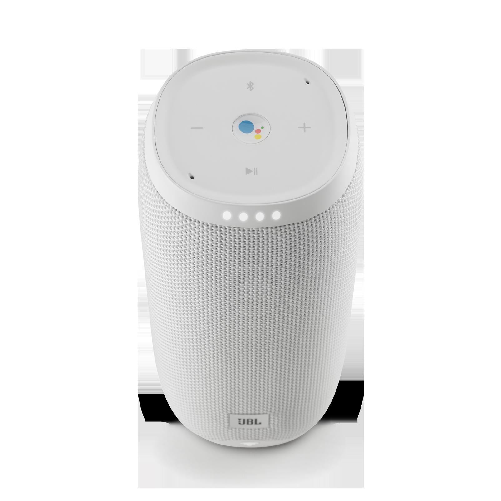 JBL Link 20 - White - Voice-activated portable speaker - Detailshot 1
