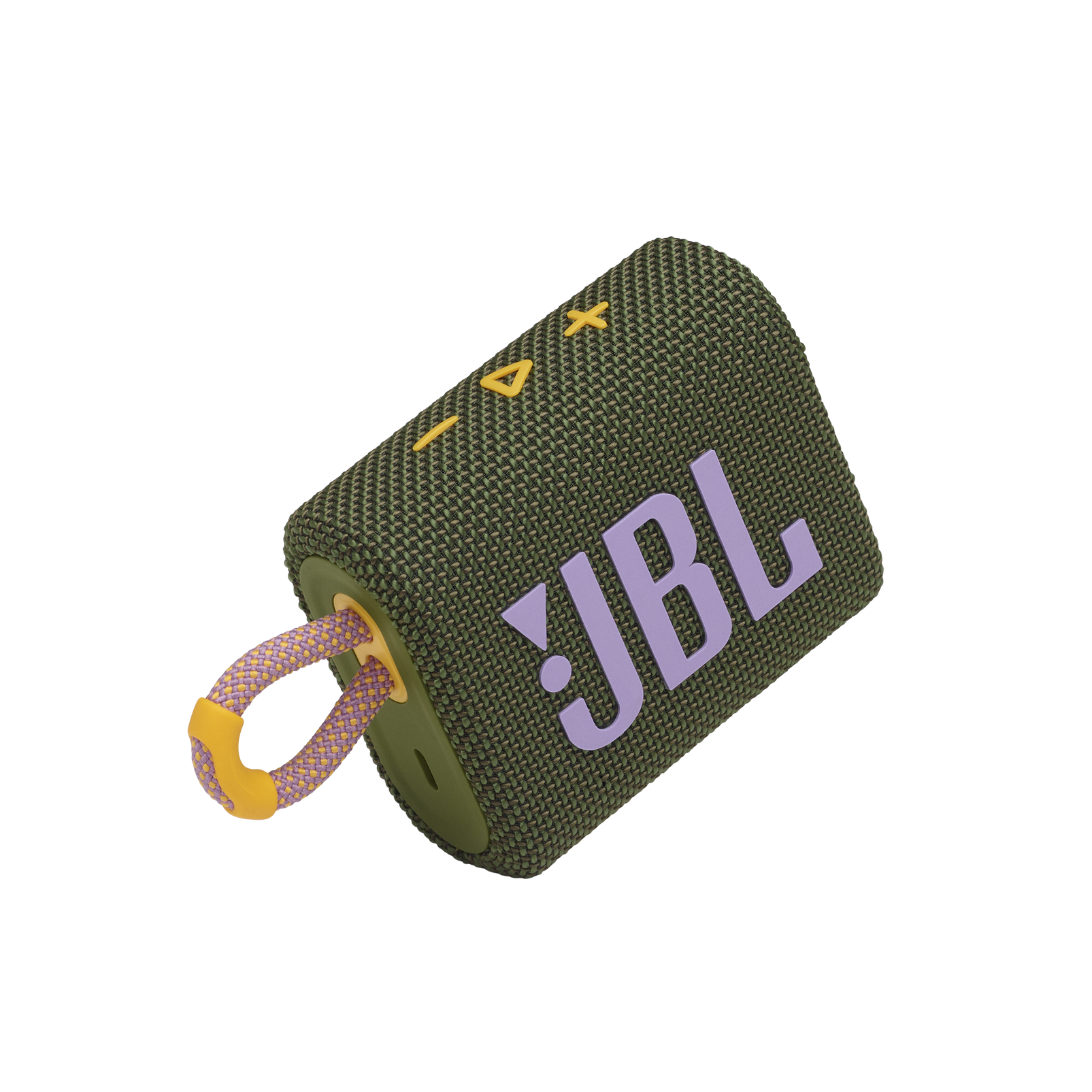 JBL GO 3 - Green - Portable Waterproof Speaker - Detailshot 1