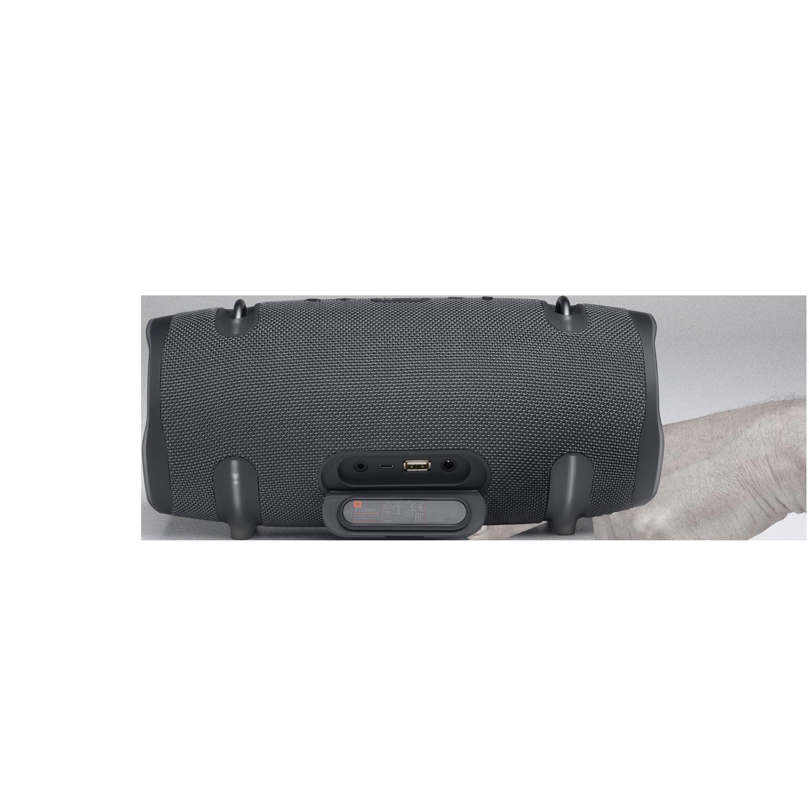JBL Xtreme 2 Gun Metal - Gun Metal - Portable Bluetooth Speaker - Detailshot 1