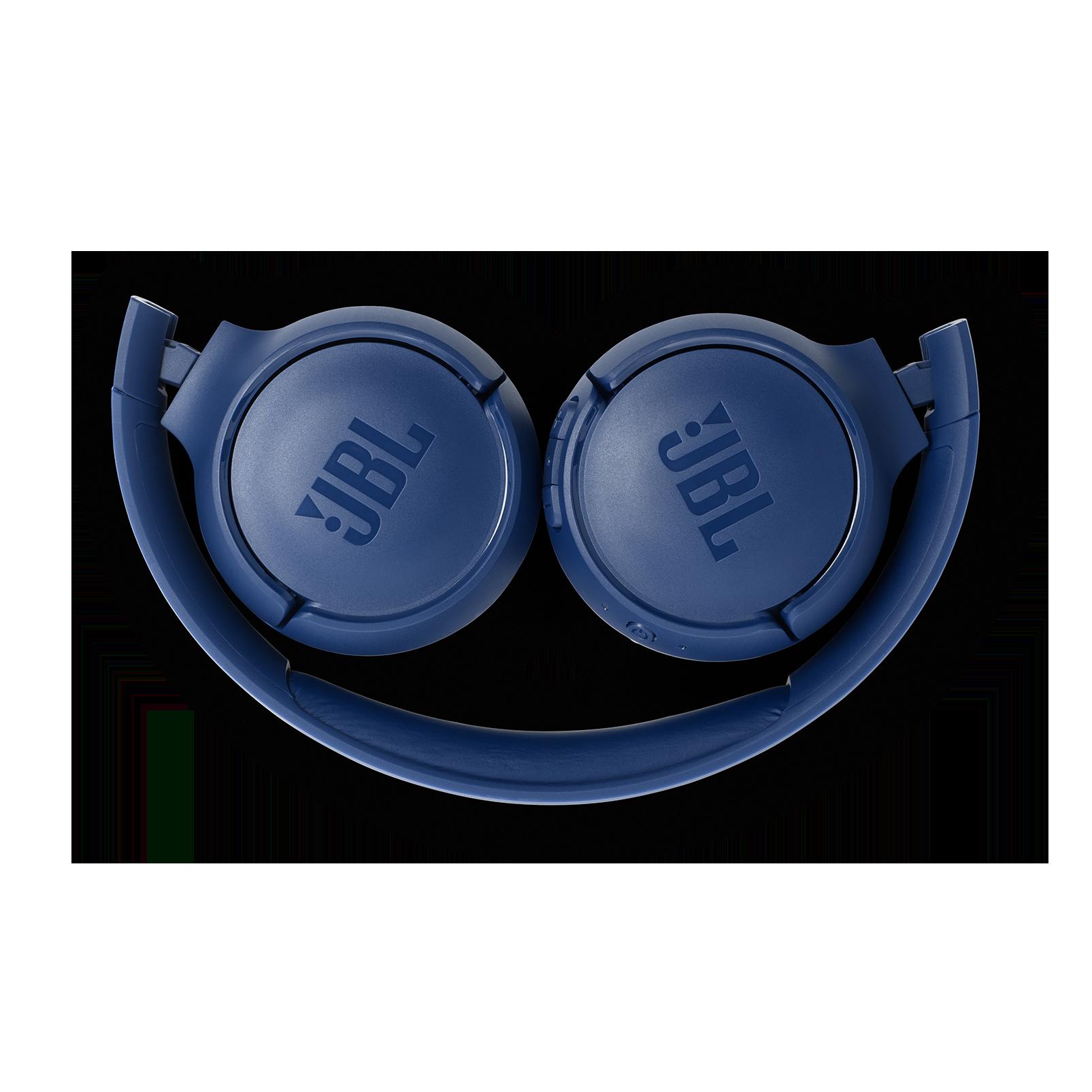 JBL TUNE 560BT - Blue - Wireless on-ear headphones - Detailshot 3