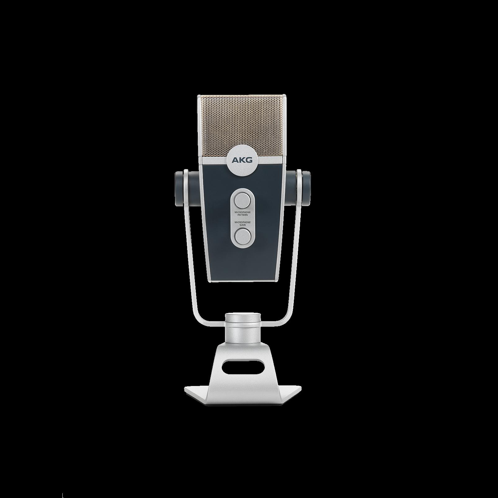 AKG Lyra - Silver - Ultra-HD Multimode USB Microphone  - Back