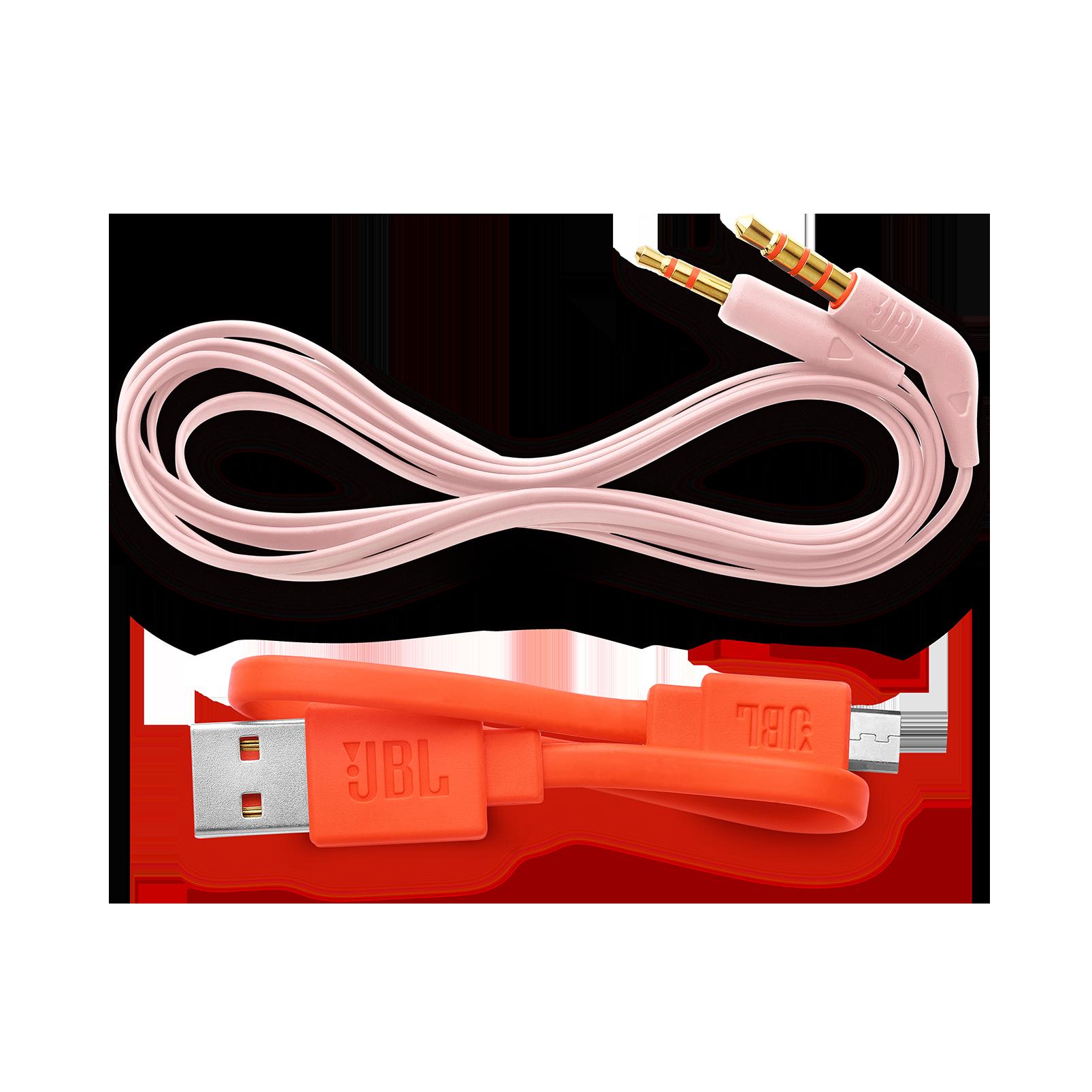 JBL TUNE 600BTNC - Pink - Wireless, on-ear, active noise-cancelling headphones. - Detailshot 5