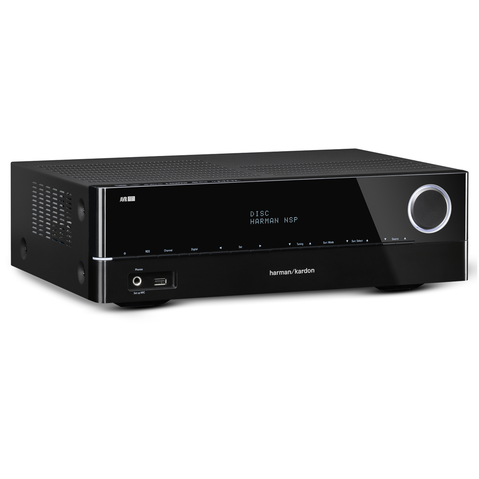 AVR 161 - Black - 425-watt, 5.1-channel, networked AVR with Bluetooth connectivity - Hero