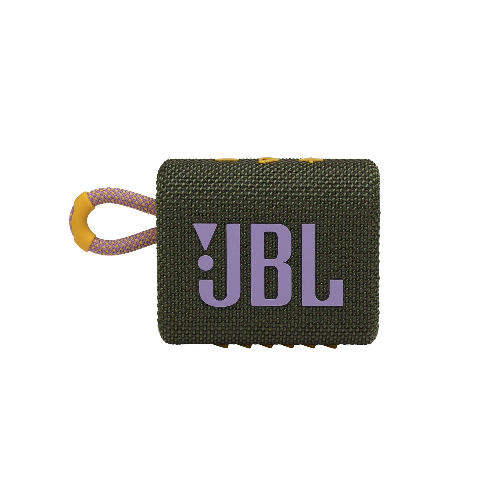 JBL GO 3 - Green - Portable Waterproof Speaker - Front