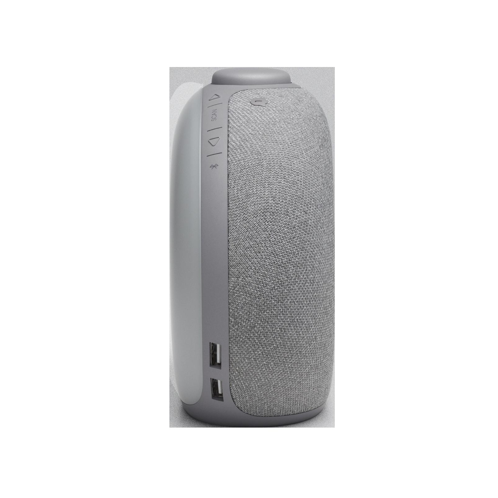 JBL Horizon 2 DAB - Grey - Bluetooth clock radio speaker with DAB/DAB+/FM - Right