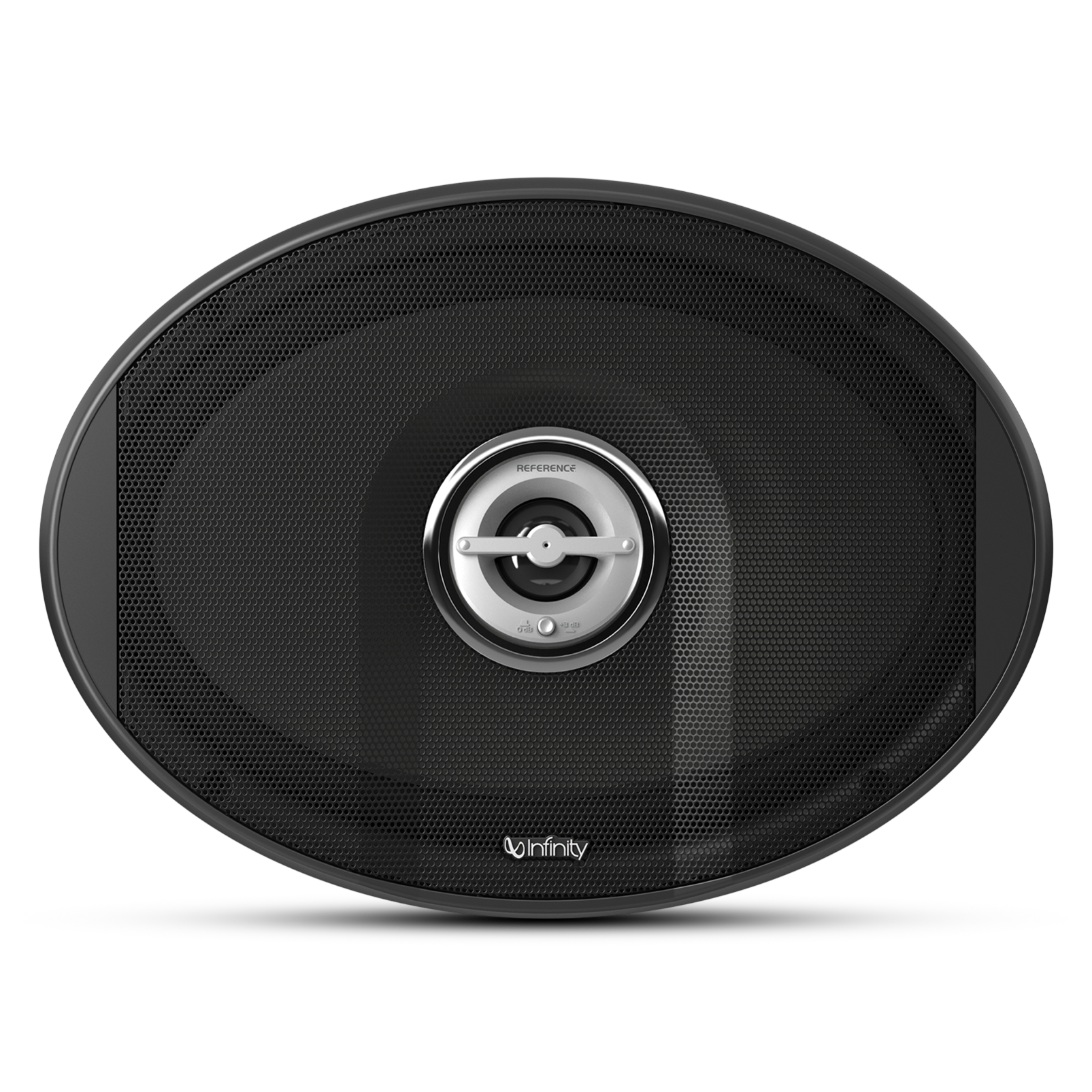 """Reference 9602ix - Black - Integrated 5-1/4"""" woofer with coaxially mounted tweeter - Front"""