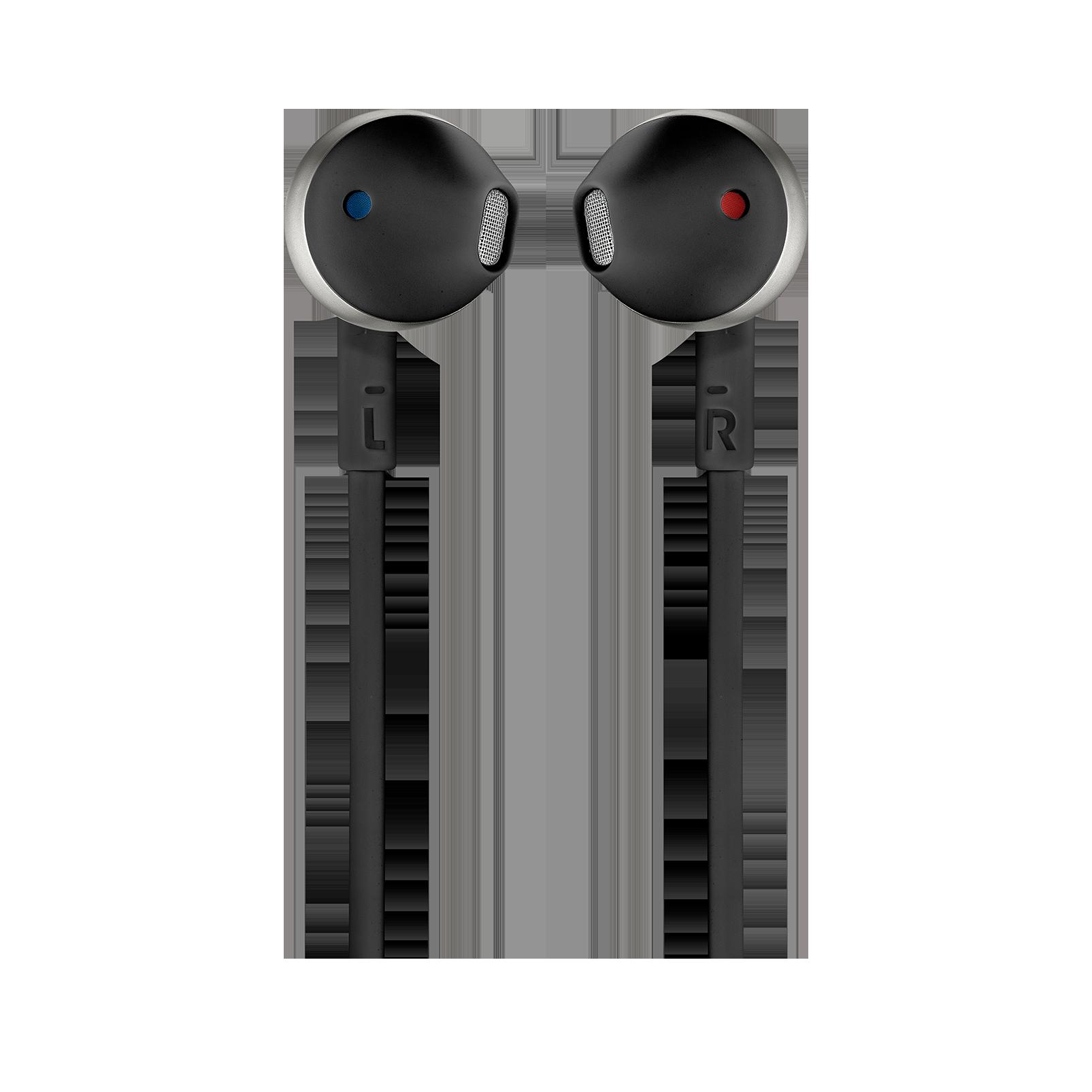 JBL TUNE 205BT - Black - Wireless Earbud headphones - Front