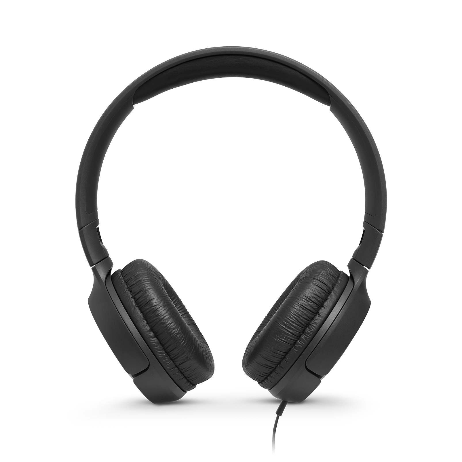 JBL TUNE 500 - Black - Wired on-ear headphones - Front