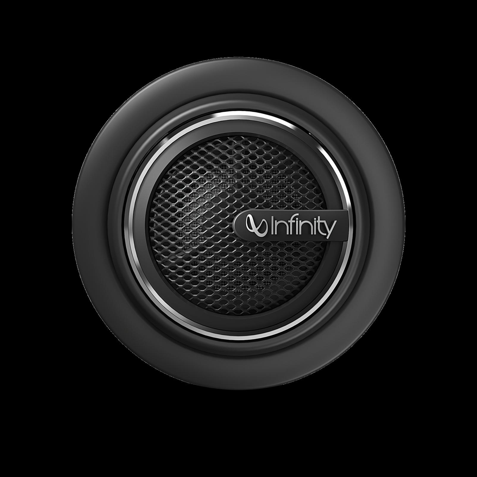 "Kappa 60.11cs - Black - 6-1/2"", two-way, component speaker system - Back"