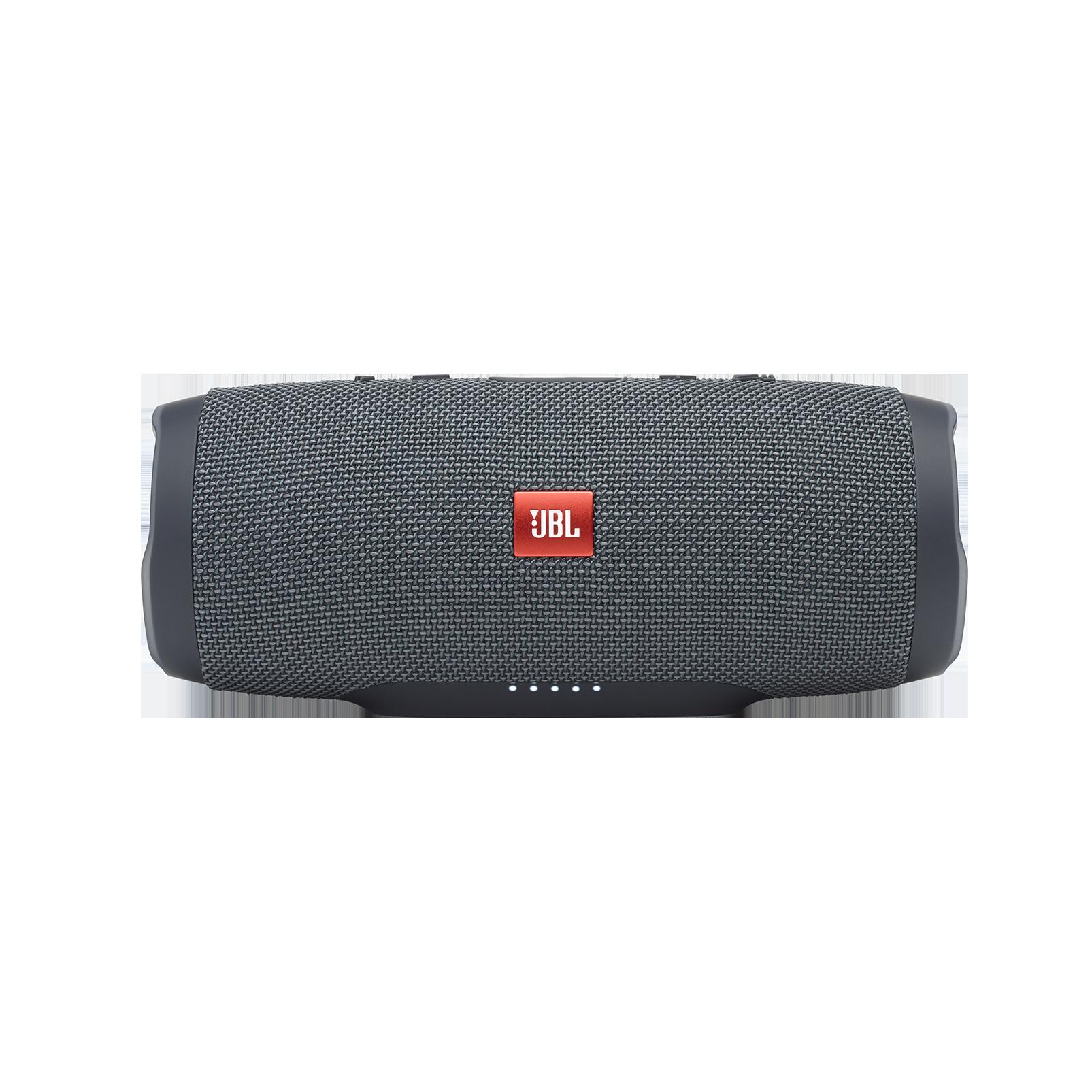 JBL Charge Essential - Gun Metal - Portable waterproof speaker - Front
