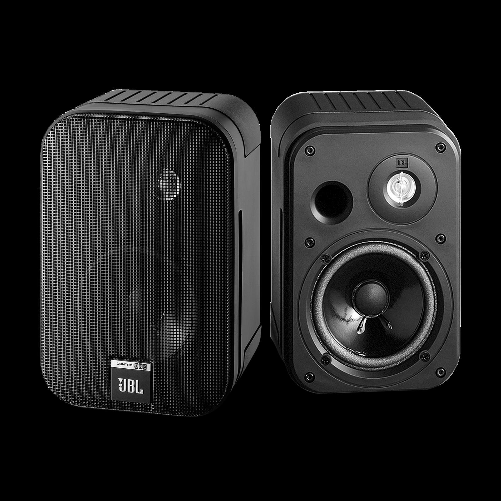 "Control One - Black - 2-Way, 100mm (4"") Bookshelf Speaker - Hero"