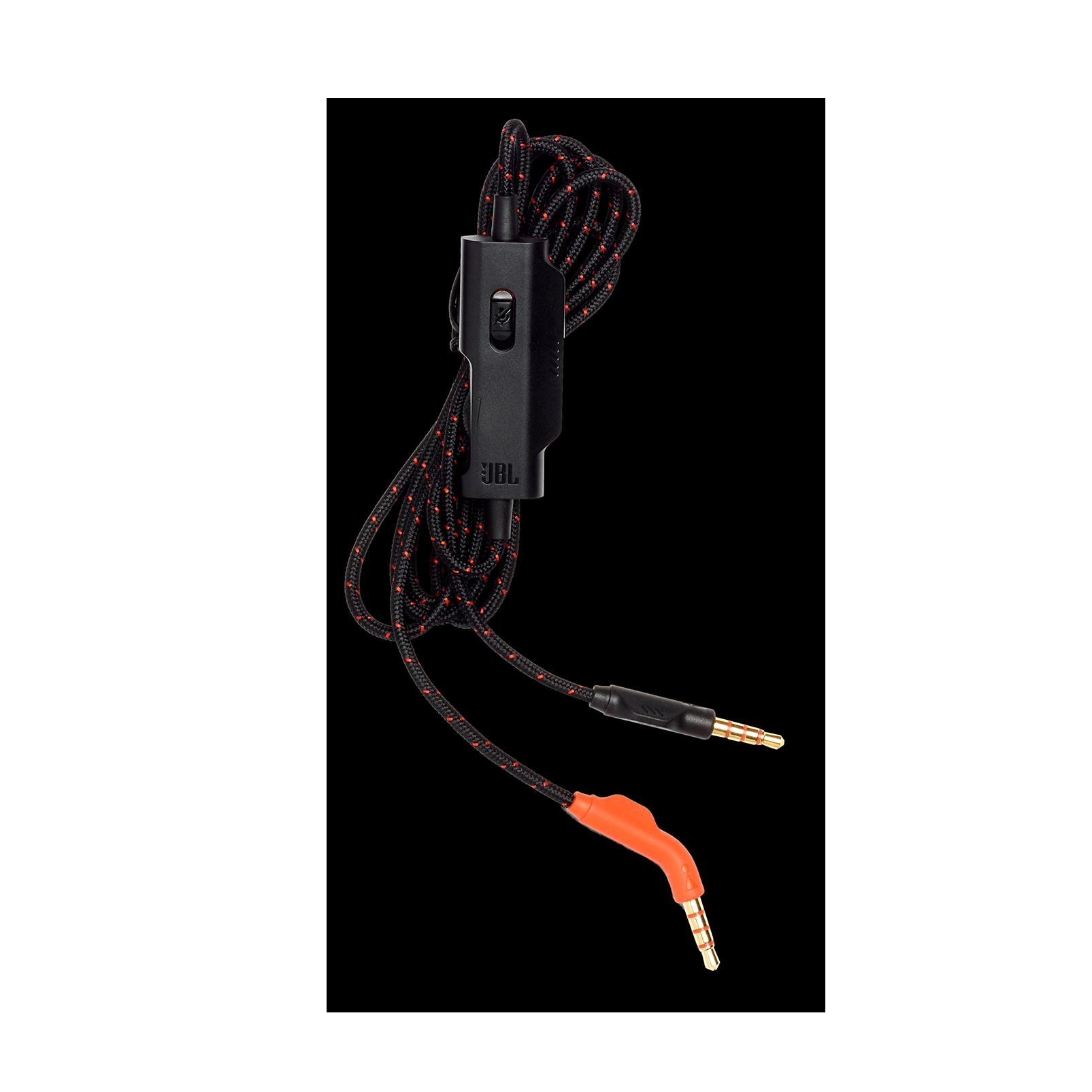 JBL Audio cable for Quantum ONE - Black - Audio cable 3.5mm, 120cm - Hero