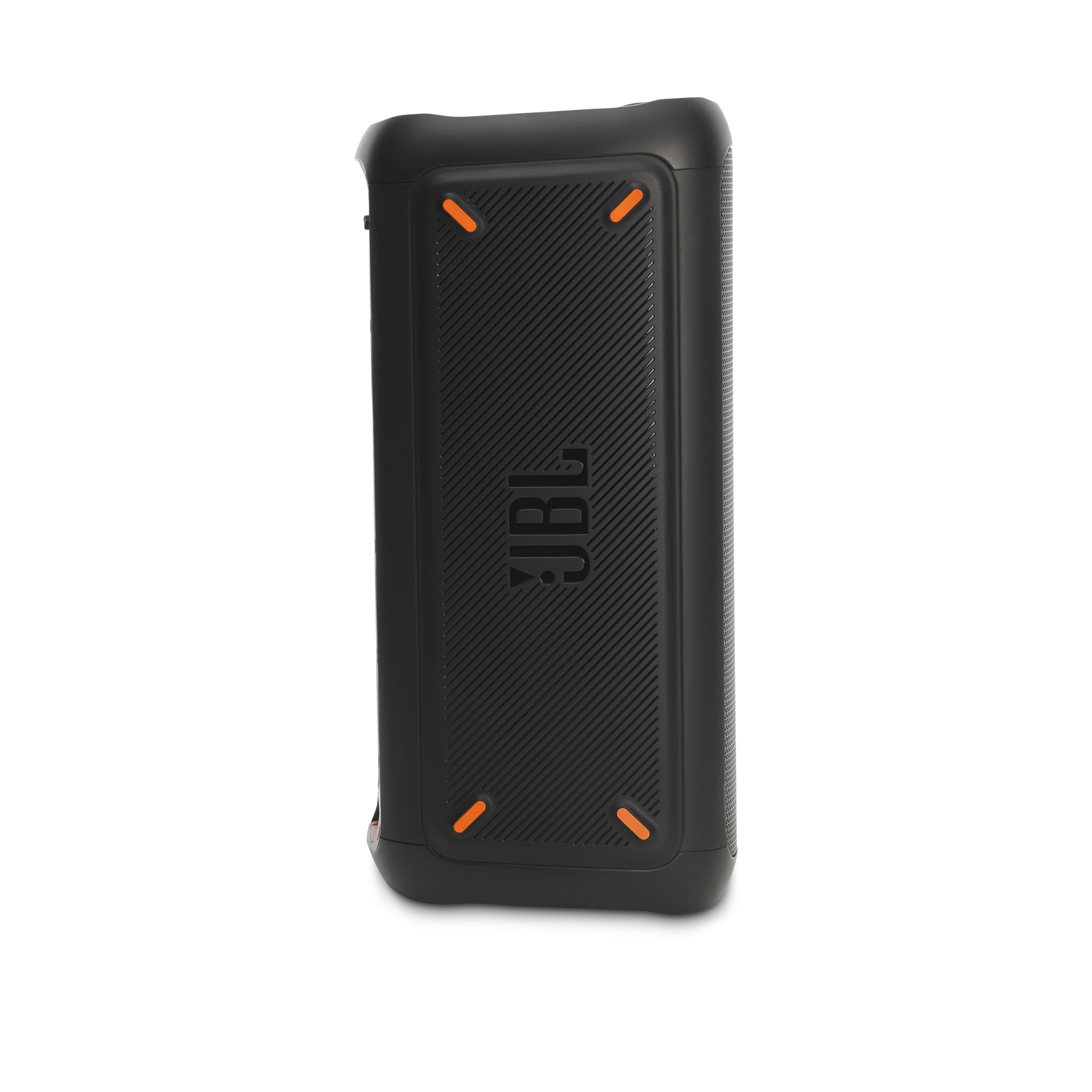 JBL PartyBox 300 - Black - Battery-powered portable Bluetooth party speaker with light effects - Left