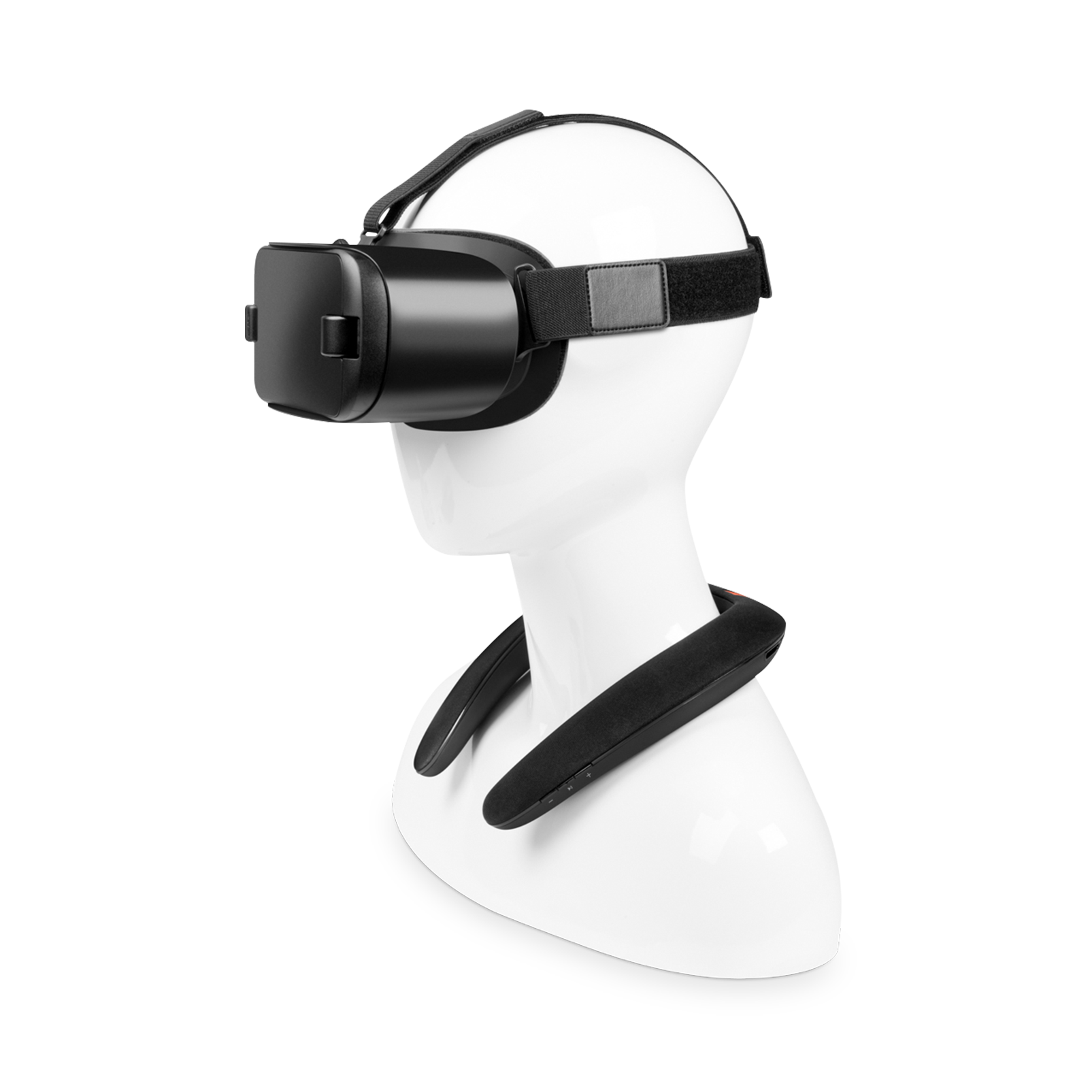 JBL SOUNDGEAR BTA - Black - Wearable wireless sound - Detailshot 1