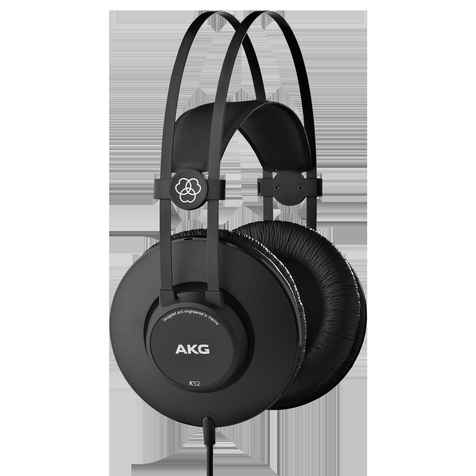 K52 - Black - Closed-back headphones - Hero