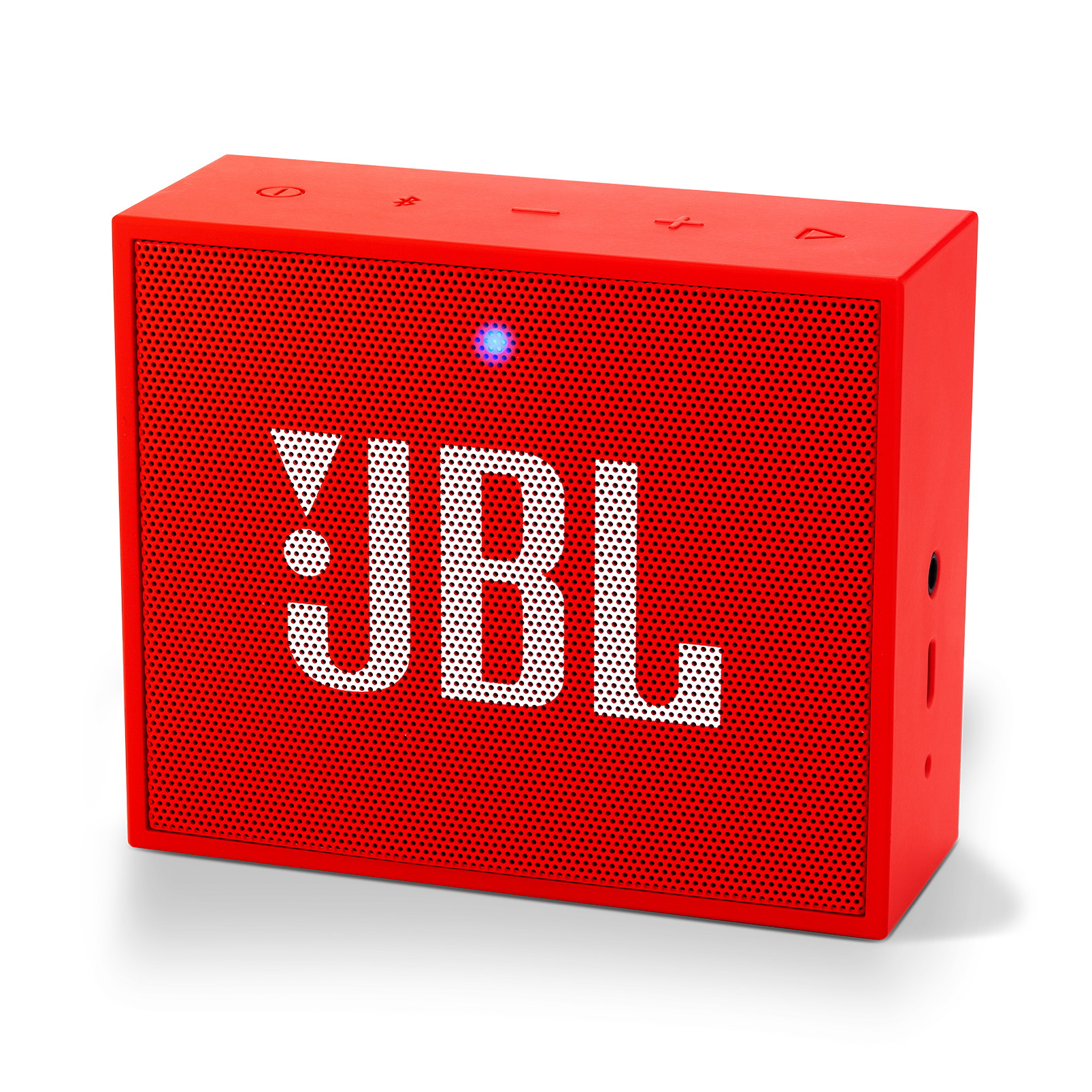 JBL GO+ - Red - Portable Bluetooth® Speaker - Hero