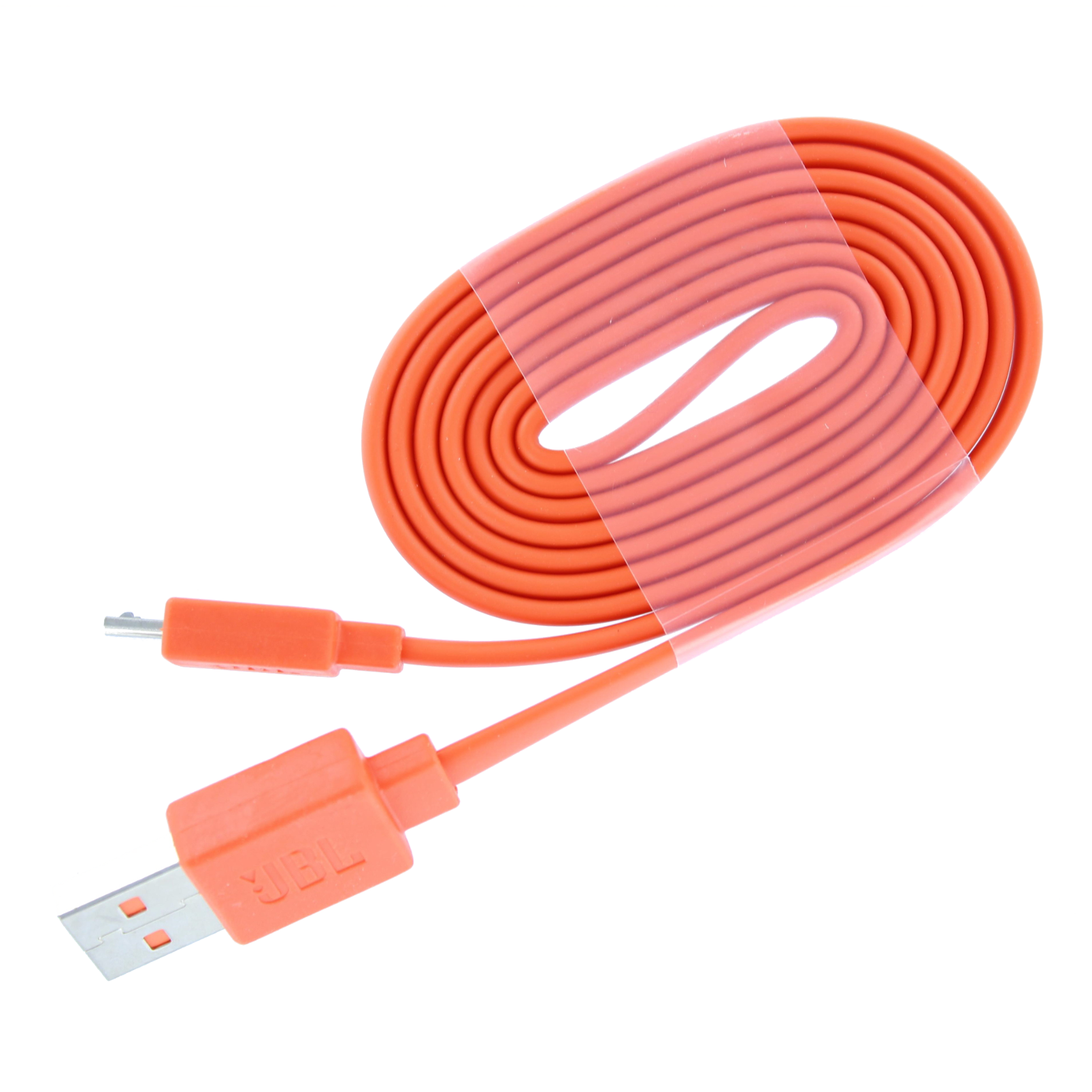 JBL USB Type-B charging cable for Flip 2/3/4, Charge 2/3, Pulse 3 - Orange - USB charging cable - Hero